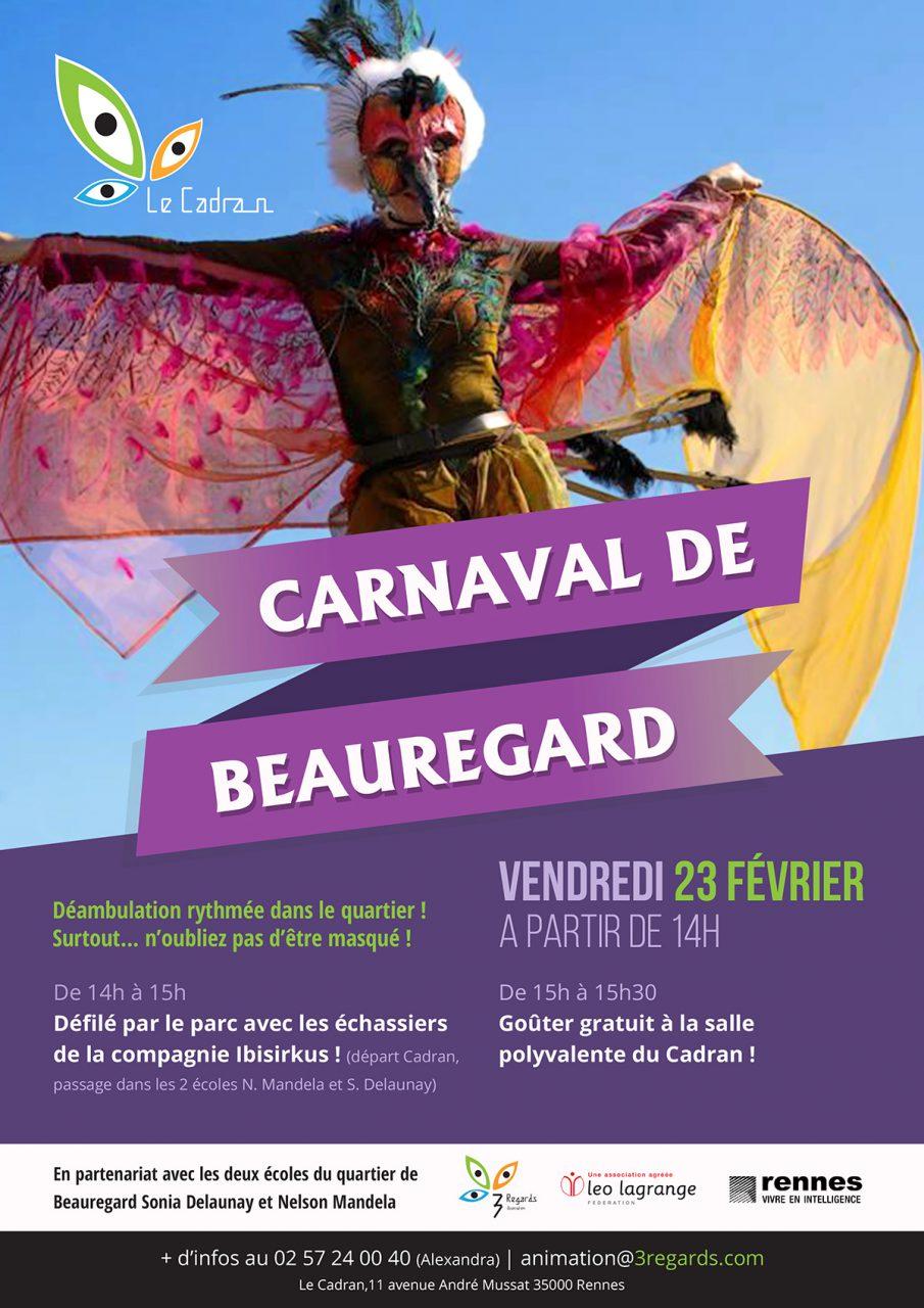 Affiche Carnaval de Beauregard
