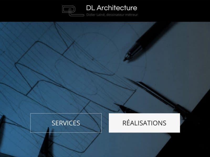 Site Web DL Architecture
