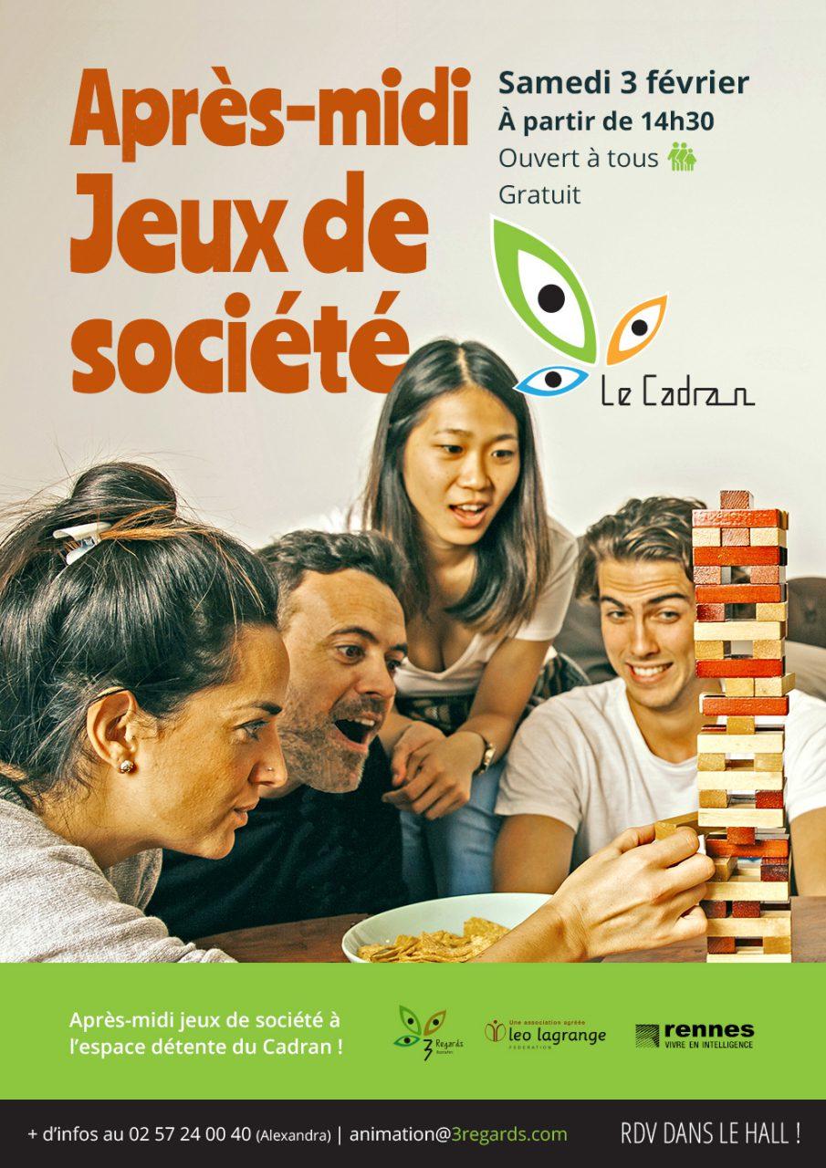 Affiche Jeux de société
