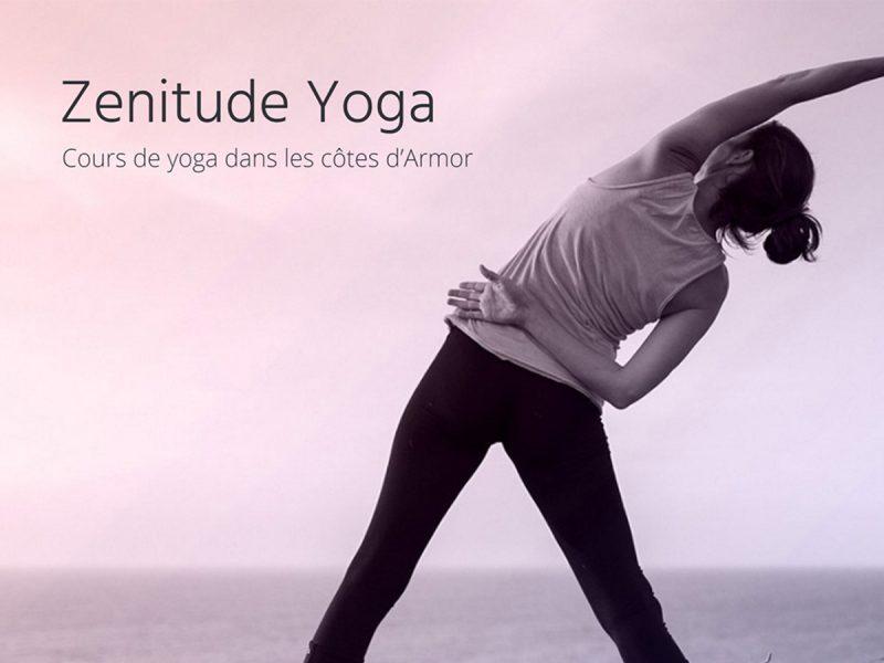 Site Web Zenitude Yoga