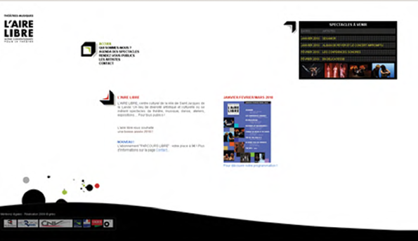 Page accueil Aire Libre