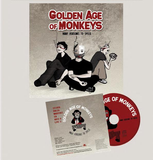 CD Golden Age of Monkeys