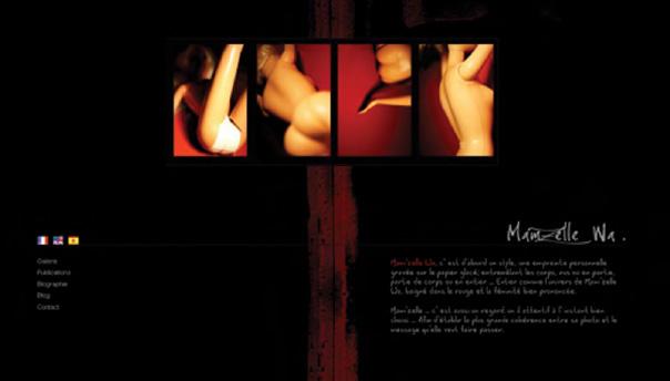 Page accueil Mamzell Wa